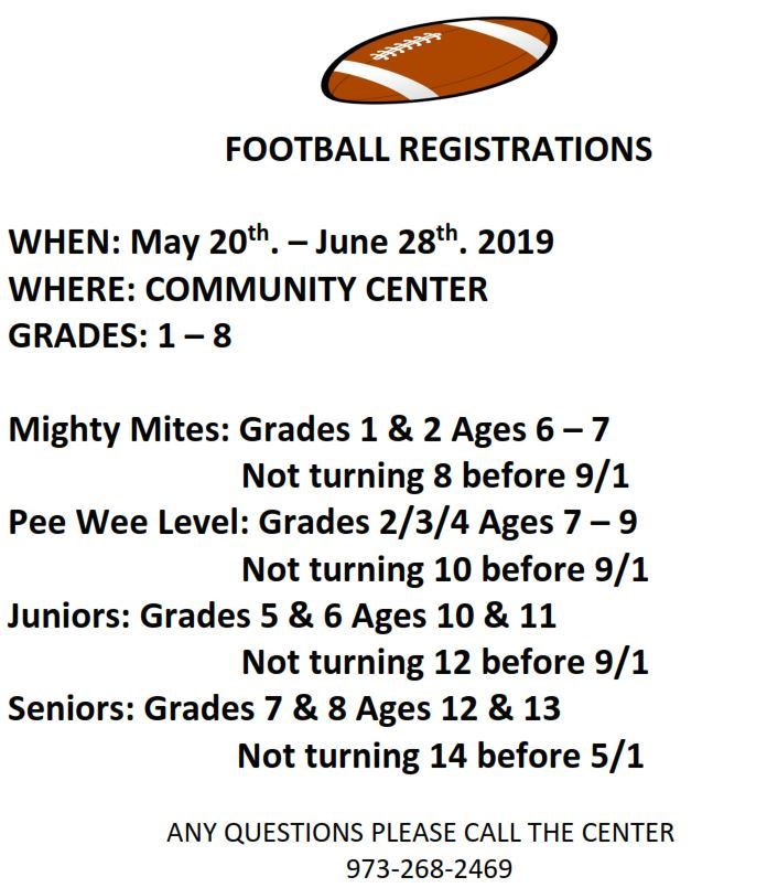 Football Registration CC