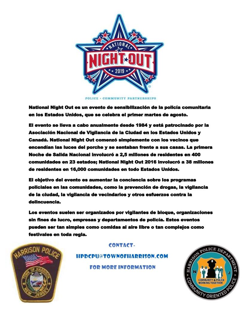 Night Out information flyer Spanish_001