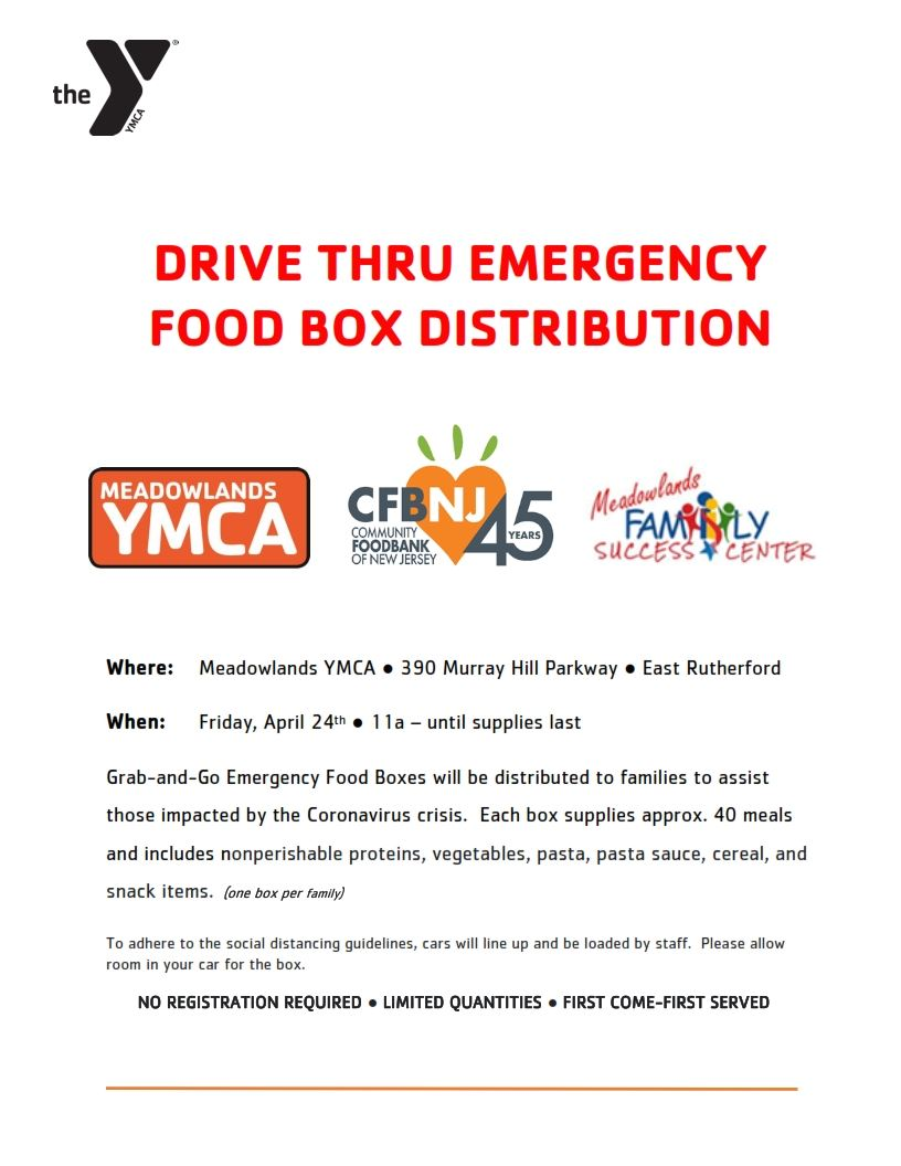 DRIVE THRU EMERGENCY FOOD BOX DISTRIBUTION FLYER - Fri April 24_001